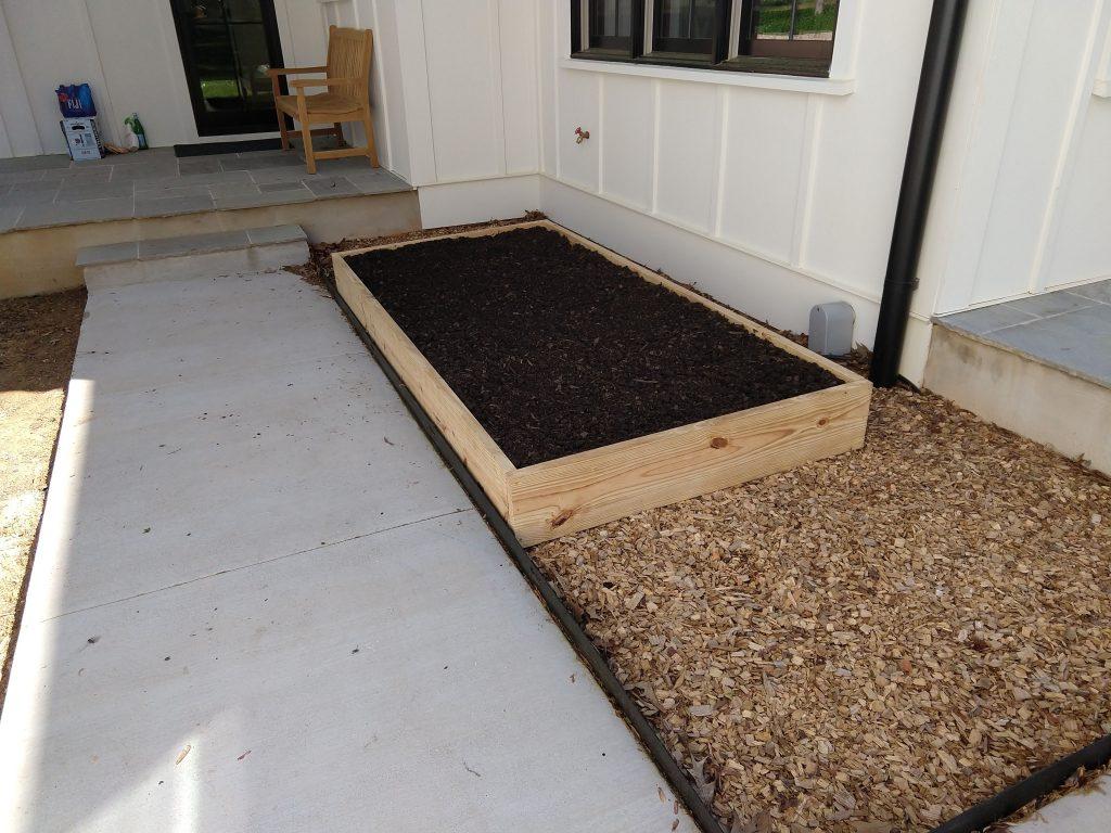 Kitchen Raised Herb Garden